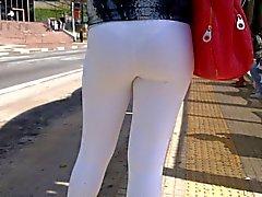 sdruws2 - calças da ioga enxergar através de na paragem