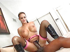 Angelina Valentine takes ramrod up her constricted little butthole like a champ