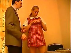 Russian Schoolgirl Having Sex In Class