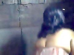 Тупой Bangla Деси мальчика перекодирование ванна не себе матери