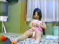 Japani nuori Suloiset tytön Välineet piilotettuja esitys
