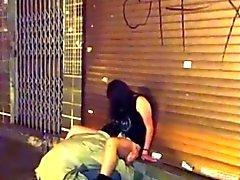 CAUGHT FUCKING on street 1