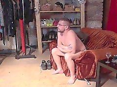 Coulée Inverser - Sexy de MILF essais les compétences du léchage d'un mec à