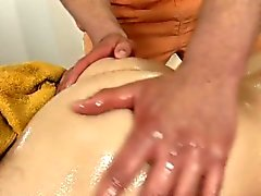 Jerking off a lusty homo cock