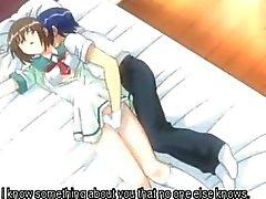 Scolaretta Anime con sorprendente le tette si fa tittyfucked la prima