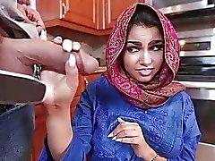 Adolescente bonito que querida Arab de Ada vagina creampied