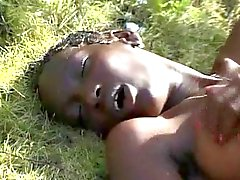 Capellute scarna teenager che africana per BWC