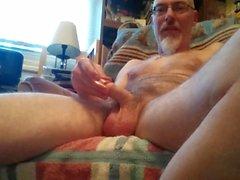 Nice masturbation video, me stroking my penis again.