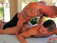 Massage And traction subite d'Ethan Slade et les de Derek part3
