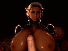 3D SFM [OnagiArt] - Ophelia - quick bonus scene