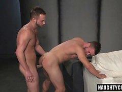 Cumshot ile Hot gay anal