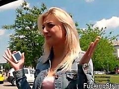 Cutie de teen Katy Rose de varados y jodido