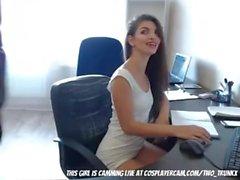 Мой коллега является Camgirl (HUUU)