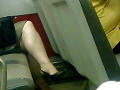 Istantanea sexy del Attraversata gambe quattro