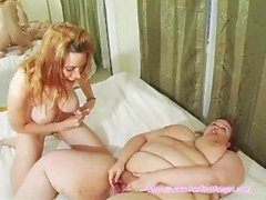 Fat & dünne Lesben