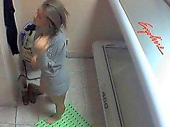 Tirkistelijät alasti tyttö Ostrava Solariumi Vieraile Part 004