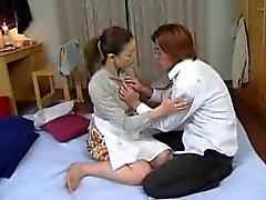 Suegra para de Mari de Aoi penetrada en el dormitorio que de Not El hijo
