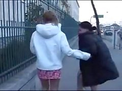 julkinen lesbo kusta nielemistä