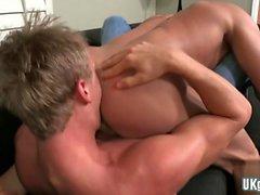 Big Dick Homosexuell Analsex mit Creampie
