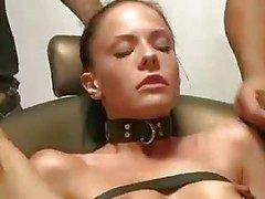 Brutale BDSM dubbele penetratie Gangbang !