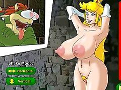 Hentai pornô jogo do sexo da princesa do pêssego é um prisioner (Nintendo )