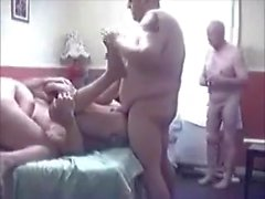 Mature guys having a fuck party !!!