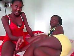Aficionados Africano lésbicas 11 - do estilo Naija !