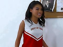 Asiatischen Cheerleader super hot