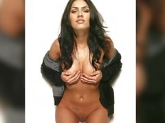 Megan Fox Nude Jerk Off Challenge JOI (Metronome)