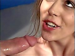 Coqs de sperme éjacule