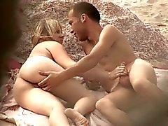 Nude beach - par adolescentes excelente apanhados desprevenidos