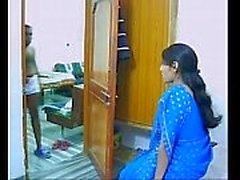 Indische Paare auf ihren Flitterwochen Saugen und Ficken