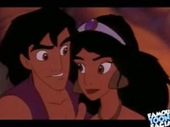 Disney Porn video Aladdin fuck Jasmine
