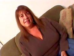 la esposa grannt calor tratando de de un BBC