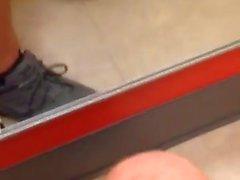 20 años de edad mamada en un vestidor Target