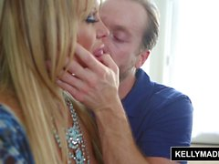 KELLY MADISON - Blue Lingerie Seduction