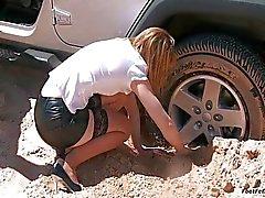 Carro preso Drive Test problema