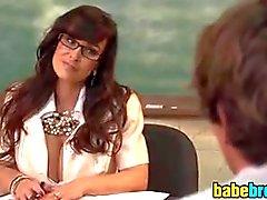 Busty Teacher Wants A Student