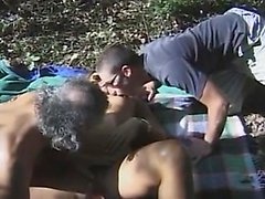 Amateur Gangbanged Within The Forest
