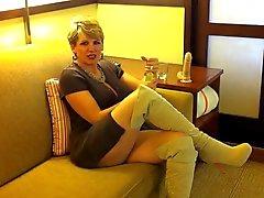 Hotellet har masturbation 37 åren gammala agent Michell
