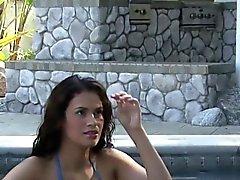Big tit Latina bénéficie photoshoot