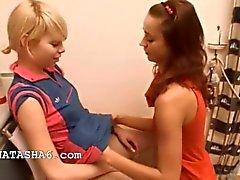 Natacha et la d'Alice aiment les filles amour
