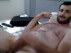 Masturbating Turkey-Turkish Bear Hung Erhan Hard Jack Off