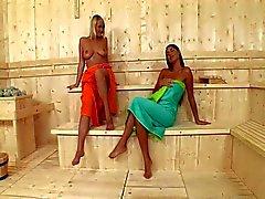 Sauna Lesbians in HD Pt1 ( 720p )