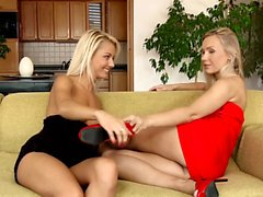 Toasting Tryst by Sapphic Erotica - beautfiul blondes Tania