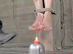 Negre bdsm sub riproduzione la candela Caro di Nikki