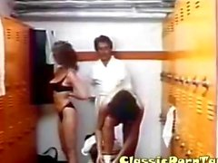 Vintage Bisex in Locker room