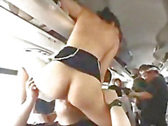 Японского Pornstars заниматься сексом участник в автобус
