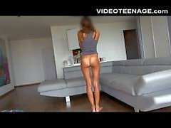 real teen first casting