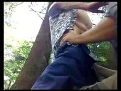 Blowjob in the wood - saltarg